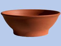 Sima agyag tányér 23
