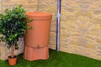 Toscana kerek 300 literes - esővízgyűjtő