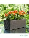 Flora box rattan BALKONLÁDA