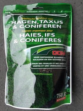 DCM szerves növénytáp örökzöld növényekhez