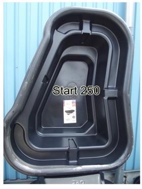 Kerti tó 250 liter