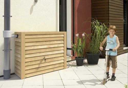Woody fali 350 literes - esővízgyűjtő tartály