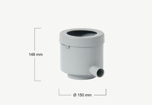 Esővízlopó szűrővel 80 m2