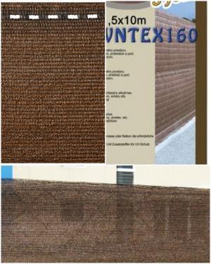 Árnyékoló háló 1,8x50m Szürke vagy barna 90%