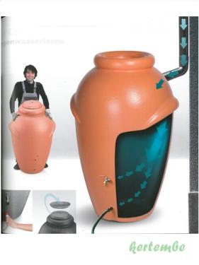 Esővízgyűjtő amfóra 360 liter