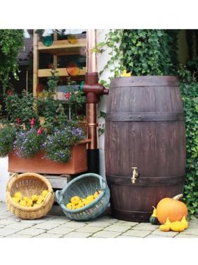 Esővízgyűjtő antik hordó B&B 250 liter