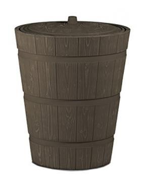 Esővízgyűjtő fa hatású tartály 275 l Rustico