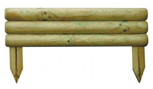 Fa ágyásszegély Bocage 14x50 cm