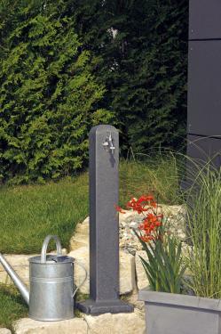 Poller kerti kút, csiszolt kő hatású