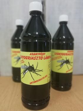 Szúnyogriasztós lámpaolaj 1 l