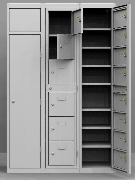 Szennyesruha bedobó és tisztaruha kiadó szekrény