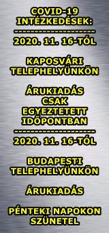 Vírushelyzet miatti intézkedések 2020. 11. 16-tól!!!!