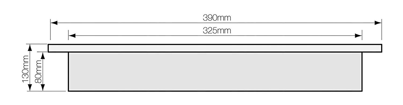 YALE padlószéf - beépítési méretek...