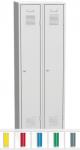 K2438 2-ajtós öltözőszekrény lábazattal