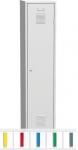 K2440/400 VM 1-ajtós öltözőszekrény, lábazattal, elválasztó fallal