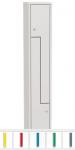 K735/1 2-ajtós öltözőszekrény lábazattal,