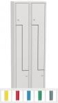 K735/2 4-ajtós öltözőszekrény lábazattal,