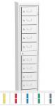 K224/10 10 rekeszes ruhakiadó szekrény