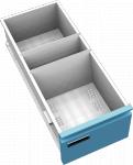 K2396 S 12 fiókos kartotékszekrény A/6 lapoknak