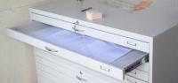 VKS A0 A térképtároló szekrény A/0 méretű, 5 fiókos