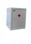 MSZ-1 méregszekrény biztonsági zárral, 1 db polccal