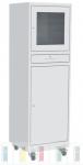 PCS 02A PC tároló szekrény műhelybe, üzembe (kerekes)