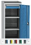 SPD 14 B szerszámtároló szekrény 2 db polccal és 1 db fiókkal
