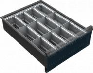 VND DPK 12C fiók osztó (12 részre, 150-240 mm magas fiókokhoz)