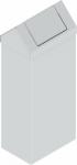 KOS-1268 billenőfedeles fém szemetes kuka (120 l)