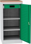 NAR_01_BS szerszámtároló szekrény, 2 db polc, 1 fiók