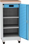 NAR_01K_BS szerszámtároló szekrény, 2 db polc, 1 fiók, írófelület