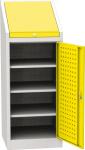 NAR_02_A szerszámtároló szekrény, 2 db polc, 1 fiók, írófelület