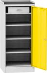 NAR_04_AR szerszámtároló szekrény, 3 db fix polc, 1 fiók