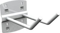 QDN_24_01 szerszámtartó kampó (dupla, 45°, L=35 mm, 5 db/csomag)
