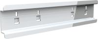 QDN_43_01 tartósín műanyag alkatrésztároló dobozokhoz (L=100 mm, 5 db/csomag)