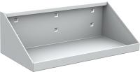 QDN_47_01 polc szerszámtartó falhoz, műhelyszekrényekhez (L=300 mm, 1 db/csomag)