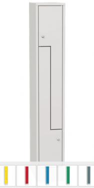 K730/1 2-ajtós öltözőszekrény lábazattal,