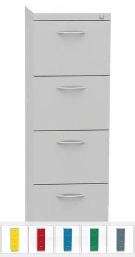 REG 44 B, 4 fiókos függőmappa tároló szekrény, A/4 függőmappákhoz