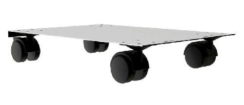 KSZ 4 PV görgős alátét kocsi fiókos fémszekrényekhez (A4 mérethez)