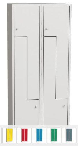 """SZS 42 A """"Z"""" ajtós öltözőszekrény, 4 személynek"""