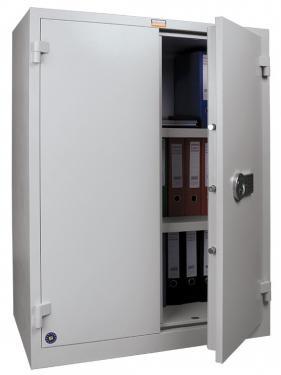 BM 1220 EL tűzálló iratszekrény (30 perc, S2 minősítés, 2 polc, Elektr. zár)