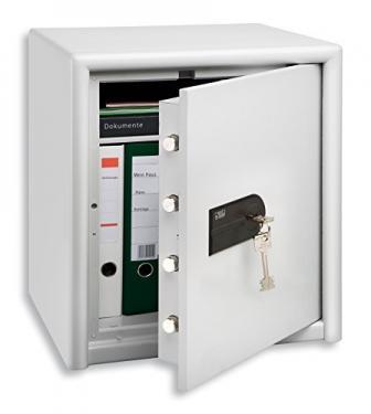 CL 40 S duplafalú tűzálló bútorszéf kulcsos zárral