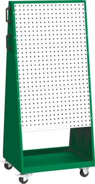 PPV_02_B mobil PERFO szerszámtartó fal koffer tartóval