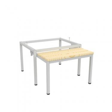 Pw 321 betolható ülőpad öltözőszekrény alá (600 mm széles szekrényekhez)