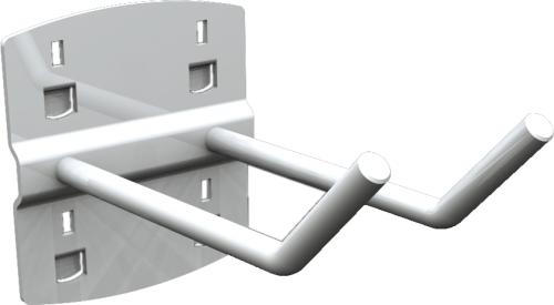 QDN_24_02 szerszámtartó kampó (dupla, 45°, L=50 mm, 5 db/csomag)