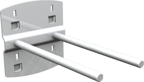 QDN_26_02 szerszámtartó kampó (dupla, 0°, L=100 mm, 5 db/csomag)