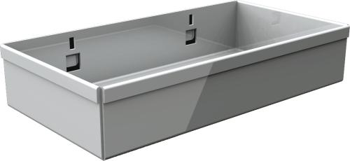 QDN_42_01 tároló doboz szerszámtartó falra, műhelyszekrénybe (5 db/csomag)