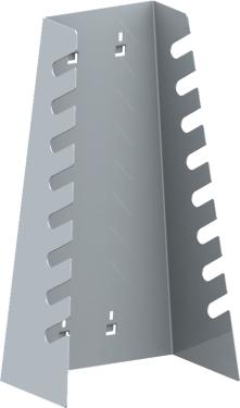 QDN_51_01 csillag-villáskulcs tartó konzol (8 szerszámnak, 1 db/csomag)