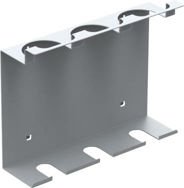 QDN_52_01 tubus tartó műhelyszekrényekhez (3 tubusnak, 1 db/csomag)