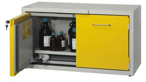 SAFETYBOX® AC 1200/50 CM tűzálló vegyszerszekrény (gyúlékony anyag tároló, 80 l, 90 perc)